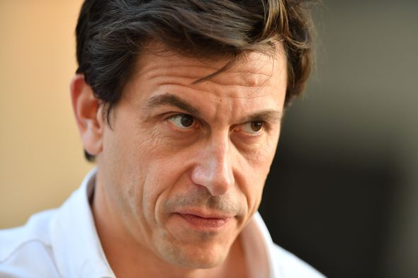 Toto Wolff Mercedes F1 team boss