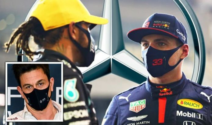 Max Verstappen to Mercedes hint dropped by team boss Toto Wolff despite Lewis Hamilton vow