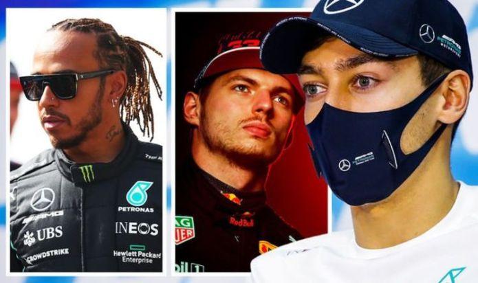 George Russell sends Lewis Hamilton retirement plea in bid to battle F1 star - EXCLUSIVE