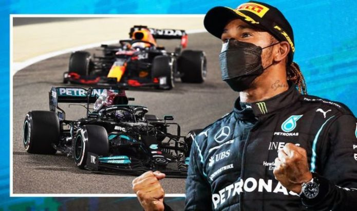 Lewis Hamilton opens up on 'horrifying' battle with Max Verstappen in dramatic Bahrain win
