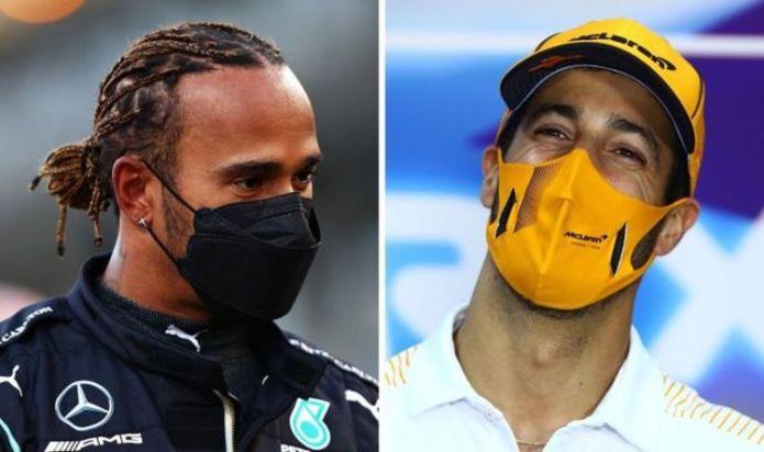 Lewis Hamilton sent F1 title warning by McLaren star Daniel Ricciardo - 'I think we can'