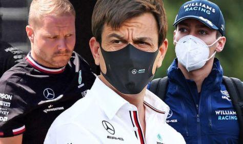 Toto Wolff trolls Red Bull as Mercedes make Valtteri Bottas vs George Russell statement