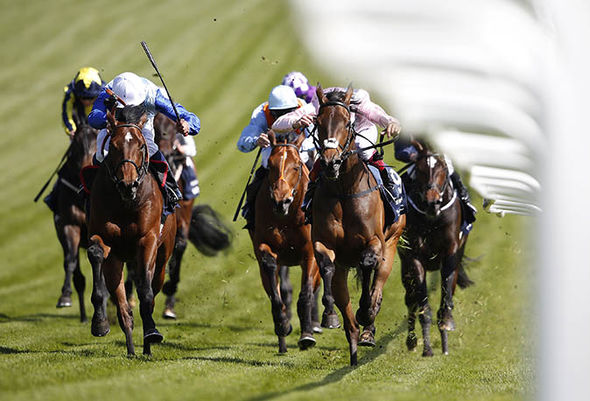Epsom Derby 2017 races
