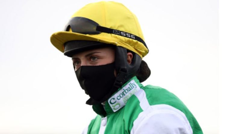 Bryony Frost rushed to hospital after Grand National fall