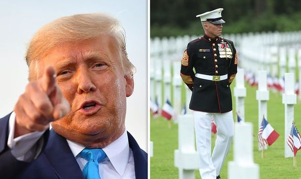 Donald Trump news: President accused of snubbing injured military veterans  | World | News | Express.co.uk
