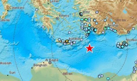Greece earthquake: Tourist hotspot rocked by monster 6.4 tremor –shockwaves felt for miles