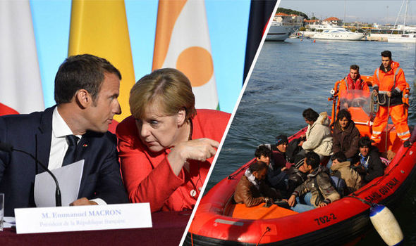 Macron and Merkel's attempts to tackle migrant crisis ...