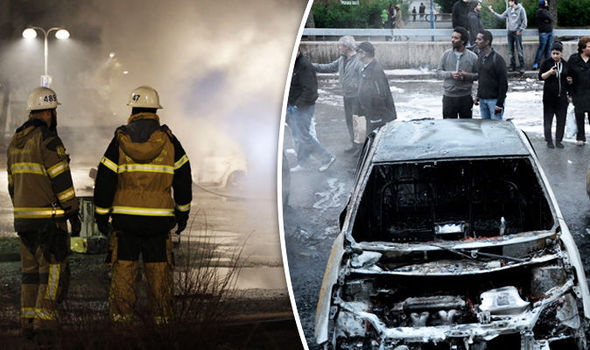 Sweden in flames as riots break out in suburbs