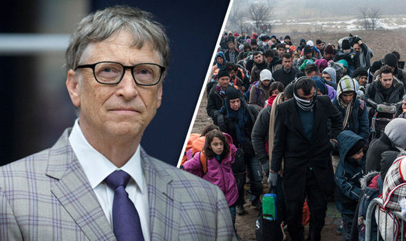 Bill Gates migrants