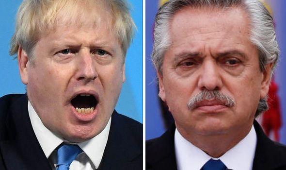 Boris Johnson Alberto Fernandez