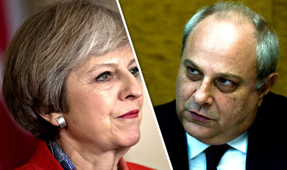 Italian minister warning to May