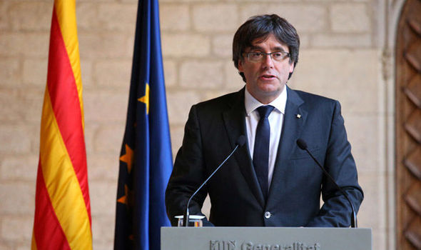 Carles Puigdemont may not be able to stay in Europe if he wants to escape ARREST by Spain