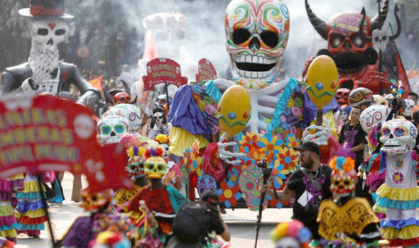 Day of the Dead in pictures