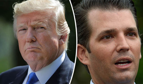 Donald Trump issued 'misleading' statement over son's ...