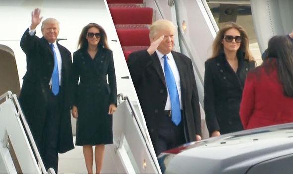 Donald Trump President America Melania