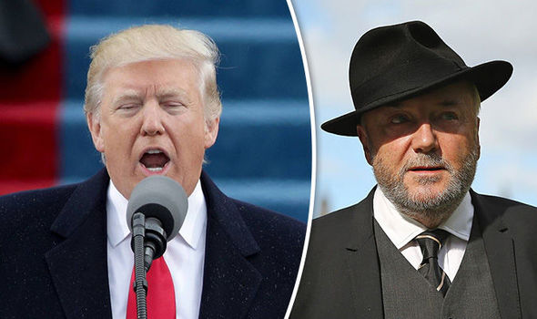 Donald Trump and George Galloway