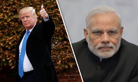 Donald Trump Narendra Modi
