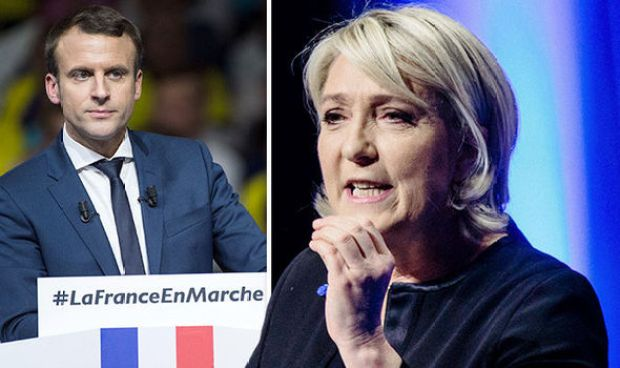 Marine Le Pen is surging in the polls as Macron is forced to say sorry