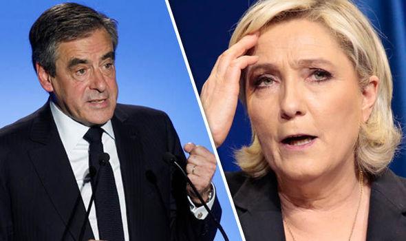Francois Fillon Marine Le Pen