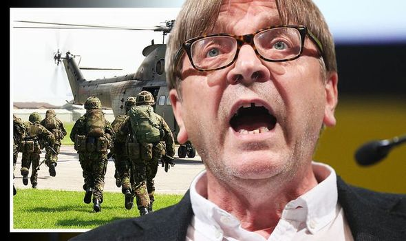 Guy Verhofstadt: The Belgian politician admitted that the EU is vulnerable to Putin's military might