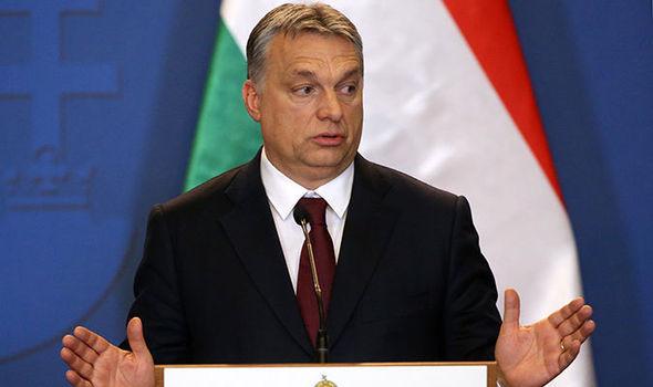 Hungarian prime minister Viktor Orban