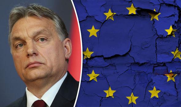 Hungary Germany Schulz Orbán EU weak enslaved