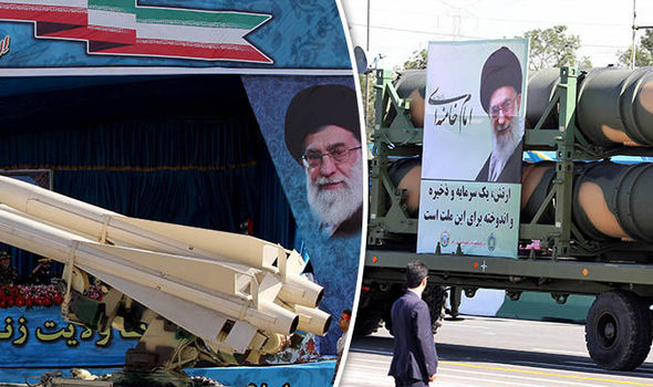 Iran shows off its military hardware