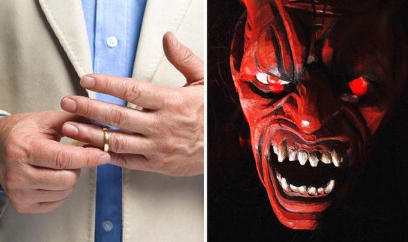 Italian man divorces demonic wife