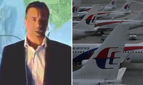 "Andre Milne said it appeared the pilot planned to use Flight MH370 for ""provocative action"" against the US military base"