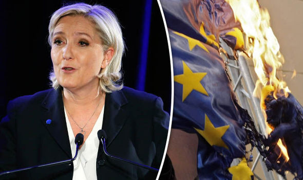 Marine Le Pen the leader of France's Front National