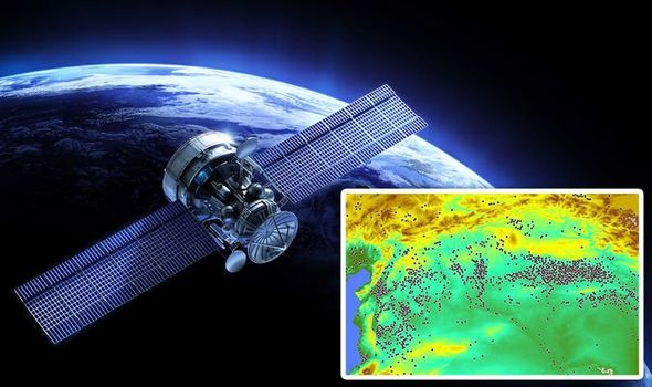 NASA satellite images helped spot the anomalies