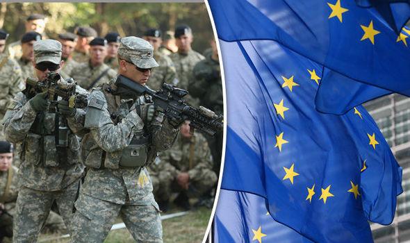 NATO EU army Trump defence