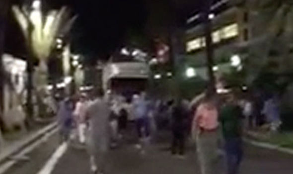 Nice attack: New footage shows moment terror truck ploughs ...