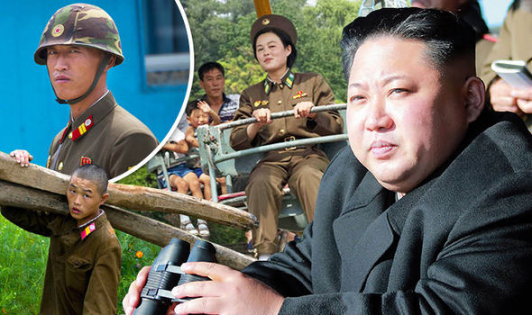 North Korea Kim Jong-un military war America