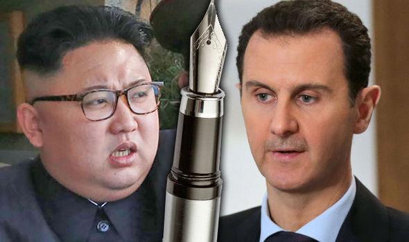 North Korea Syria