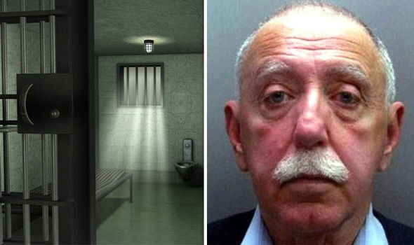 Paul Charles Wilkins and a prison cell