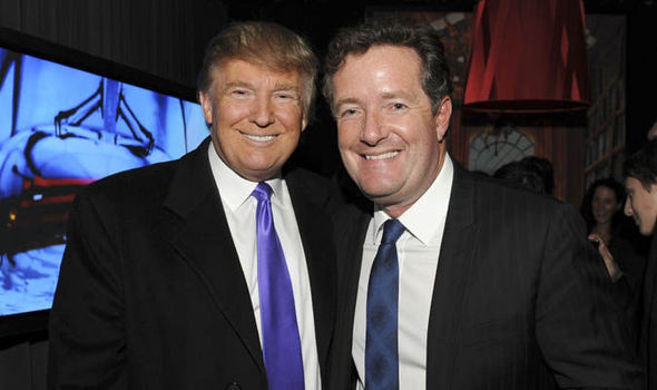 Piers Morgan Trump