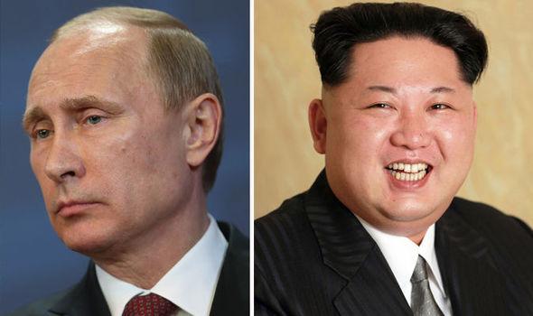 Putin y Kim Jong-un