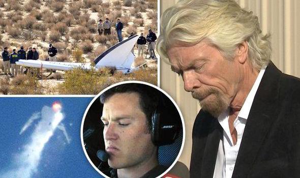 Virgin Galactic Crash Richard Branson Should GIVE UP On