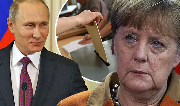 Vladimir Putin Angela Merkel