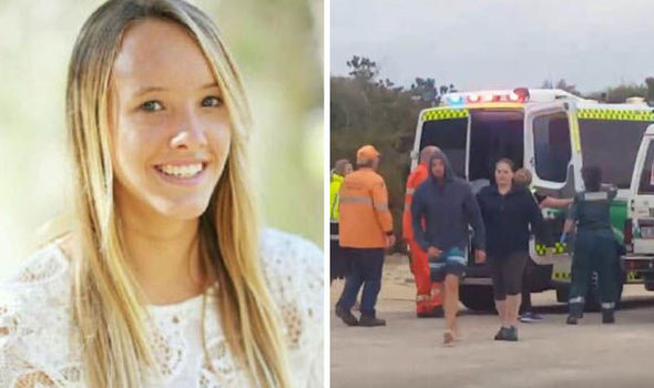 The teenager died while surfing with family