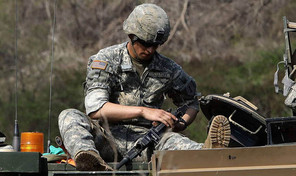 US troops conduct emergency drills in South Korea