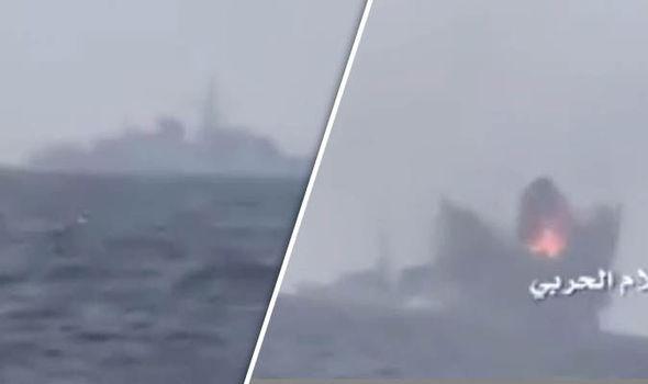 Saudi warship