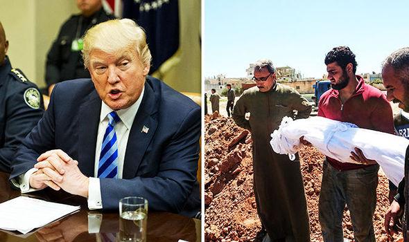 Donald Trump has won praise for bombing Syria