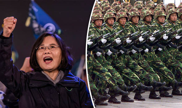 Taiwan has warned about China's military drills