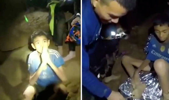 Thailand cave rescue latest update trapped boys found