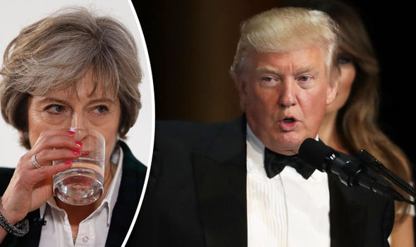 Theresa May is prepared to blast 'sexist' Trump