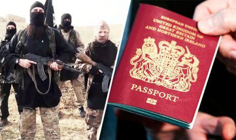 ISIS fighters British passport