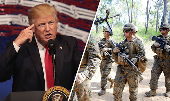 Trump North Korea marine Australia