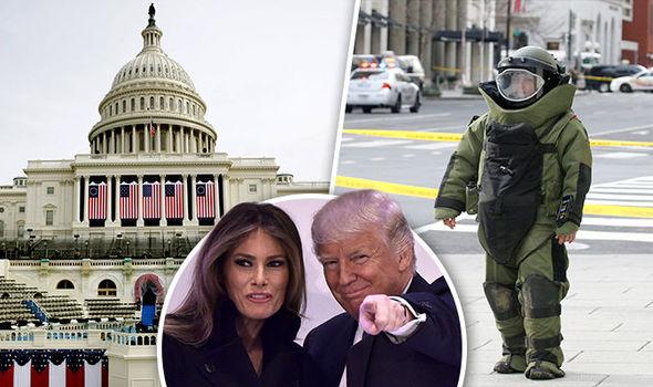 Trump bomb scare
